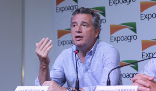 Luis Etchevehere en Expoagro
