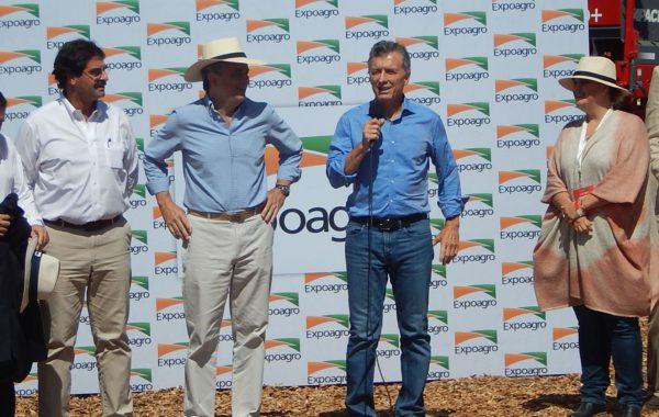 Mauricio Macri este martes en Expoagro