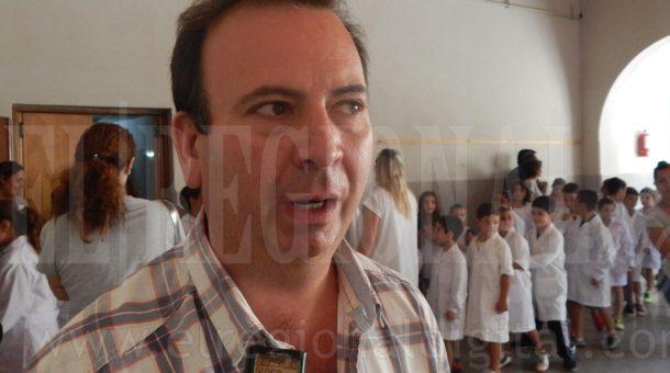 Roberto Asenjo durante el dialogo con El Regional Digital