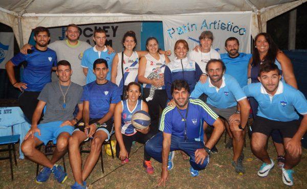 San Martin se presento con Futbol, Hoceky, Patin, Tenis y Voley
