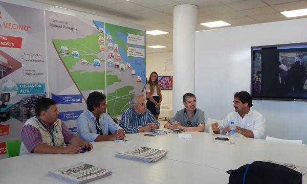 Sarquis reunido con integrantes de ABOPA en Expoagro