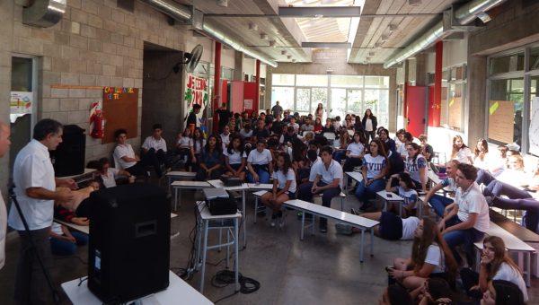 Charla sobre RCP en Colegio Los Ceibos