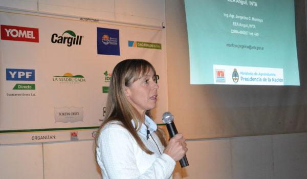 Dra Jorgelina Montoya, fue la disertante de la charla