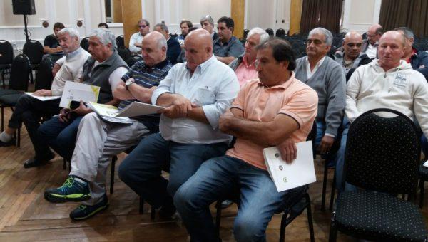 Eduardo Barucco fue parte de la reunion de este sabado en Tandil
