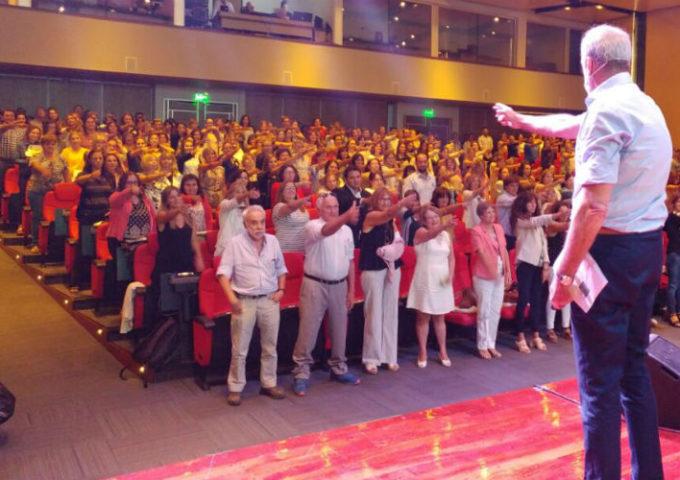 500 docentes dicen SI al 5to. Congreso de EduCrea en 9 de Julio