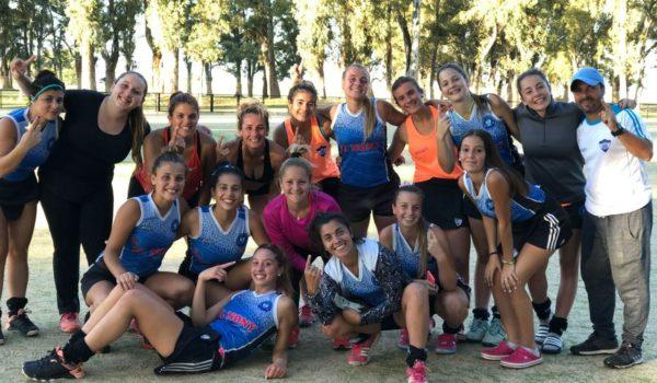 Equipo de Primera division de San Martin que gano 1 a 0 ante Henderso-Mones Cazon en Bolivar por la Zona B