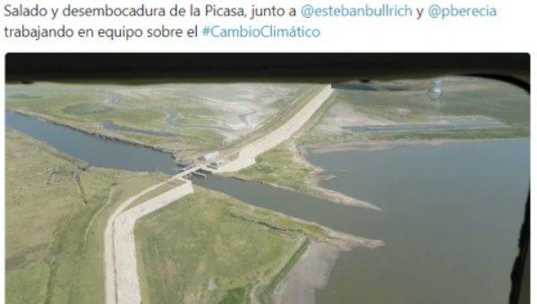Foto publicada por Petrecca en su twiter