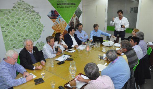 Instancia de la reunion de CEDABA, que presidio Sarquis