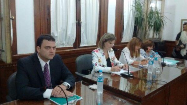 Intendente Mariano Barroso dejo abierta las sesiones del HCD