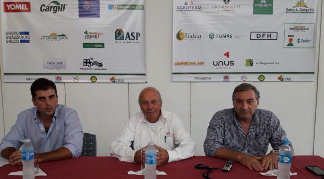 Juan Fage, Luis Ventimiglia y Fernando Mato extendieron la invitación para este jueves a la charla de Malezas