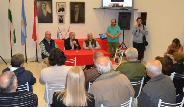 Juan Manuel Casella visito el Comite UCR 9 de Julio
