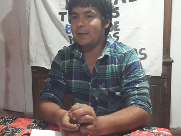 Kevin Rios brindo detalles de como sera la movilización del proximo viernes 13