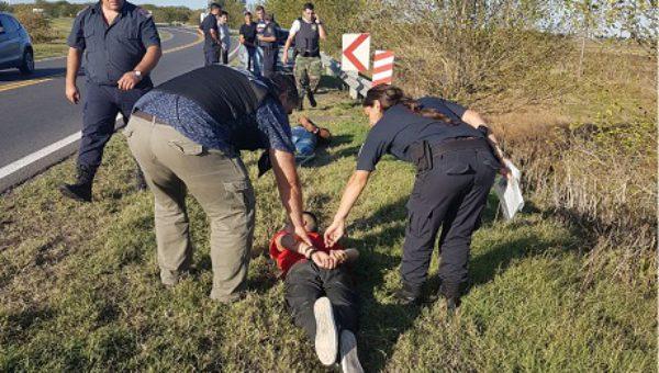 Los autores del robo fueron detenidos rapidamente por la Policia de Chivilcoy – foto Diario del Salado