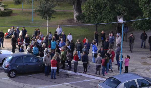 Los primeros vecinos que llegaban a Plaza Belgrano