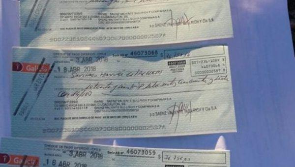 Los valores que le robaron al transportista de 9 de Julio – foto Diario del Salado