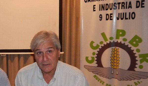 Luis Valinoti, preside Camara de Comercio y dio un panorama de la economia local