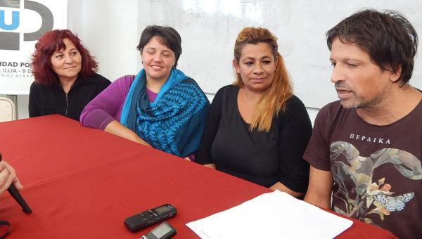 Marcos Galvani, Lucia Cantero, Maria Novelino y Sandra Brance compartieron el buen momento del Teatro Independiente