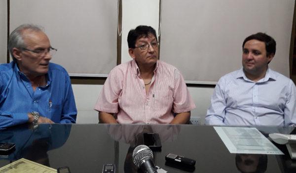 Omar Malondra, Alejandro Negro y Eduardo Triverti