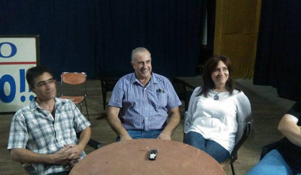 Raul Bramajo, Eduardo Bonoldi e Ines Sendoya