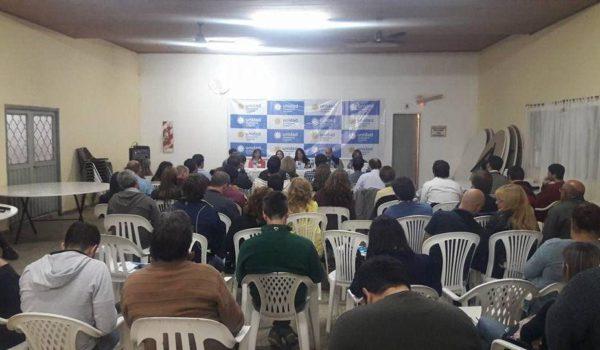 Reunion de 4ta Seccion de Unidad Ciudadana en Bragado