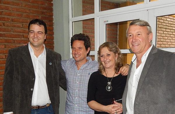 Barroso, Sanchez Zinny, Vallabriga y Balbo en Escuela Tecnica