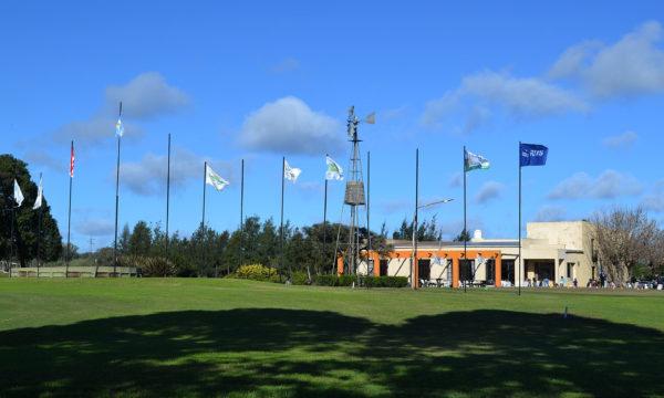 El House del Golf Club tambien luce esplendido