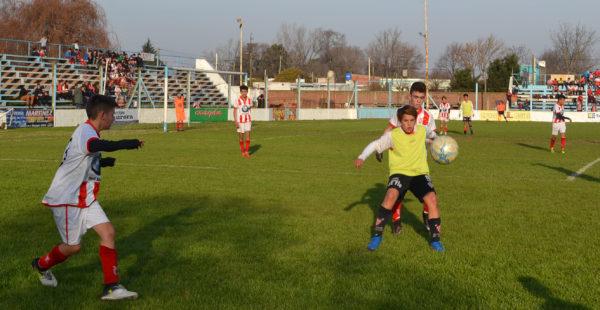 Final de la Copa Sanmartiniana jugada en el 2017 entre Atletico 9 de Julio y Sarmiento de Coronel Suarez