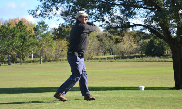 Juan Pablo Ferrere durante una de sus salidas en el Golf