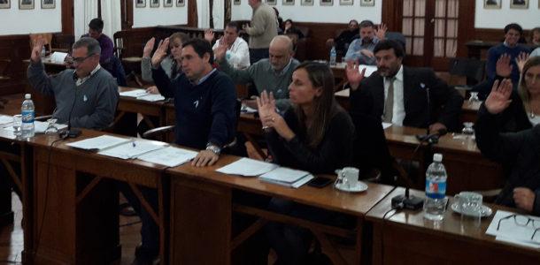 La nueva conformación del Bloque Cambiemos es presidida por el concejal de UCR Diego Spinetta