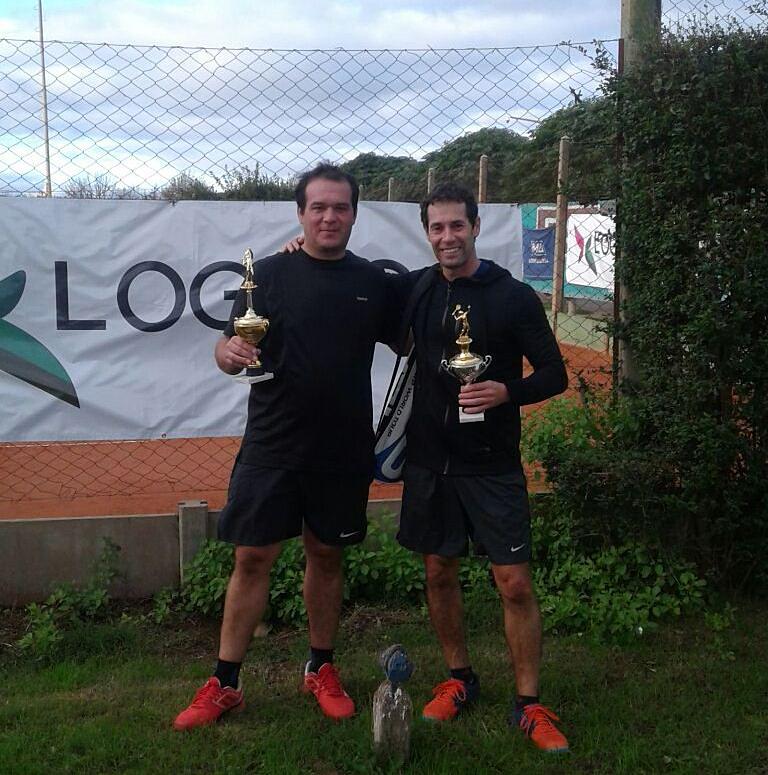 Vera, Gallo Llorente y Diaz los campeones de tenis del Torneo Axion- Logioco hnos. en San Martín
