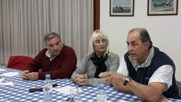Aldo Esteban, Graciela Vadillo y Fernando Mato