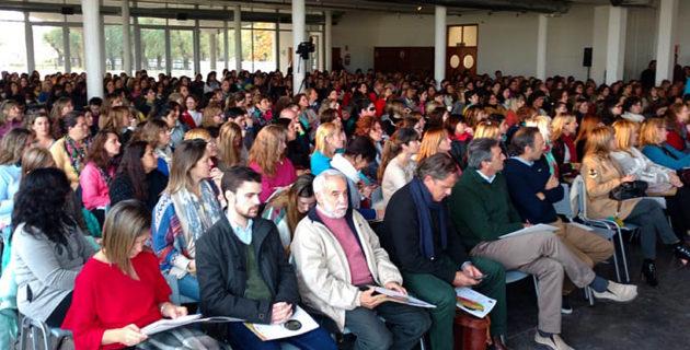 500 docentes de cinco provincias y 51 localidades se llegaron hasta 9 de Julio en el V Congreso EduCrea
