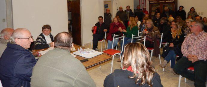El Concejal Spinetta y el Diputado Silvestre estuvieron presentes