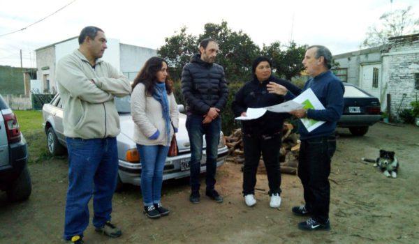 En dialogo con vecinos de Dudignac