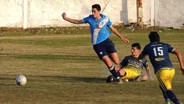 Enzo Monjada uno de los artifices de la victoria de San Martin ante Defensores de la Boca