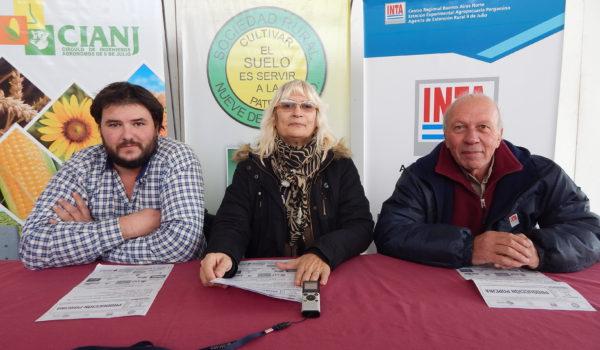 Gonzalo Crespo, Graciela Vadillo y Luis Ventimiglia