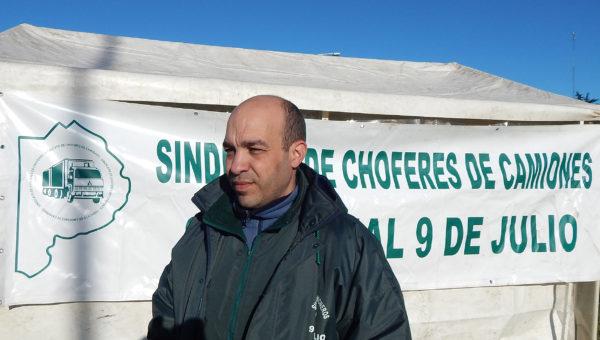 Hernan Sanchez, Secretario Seccional 9 de Julio