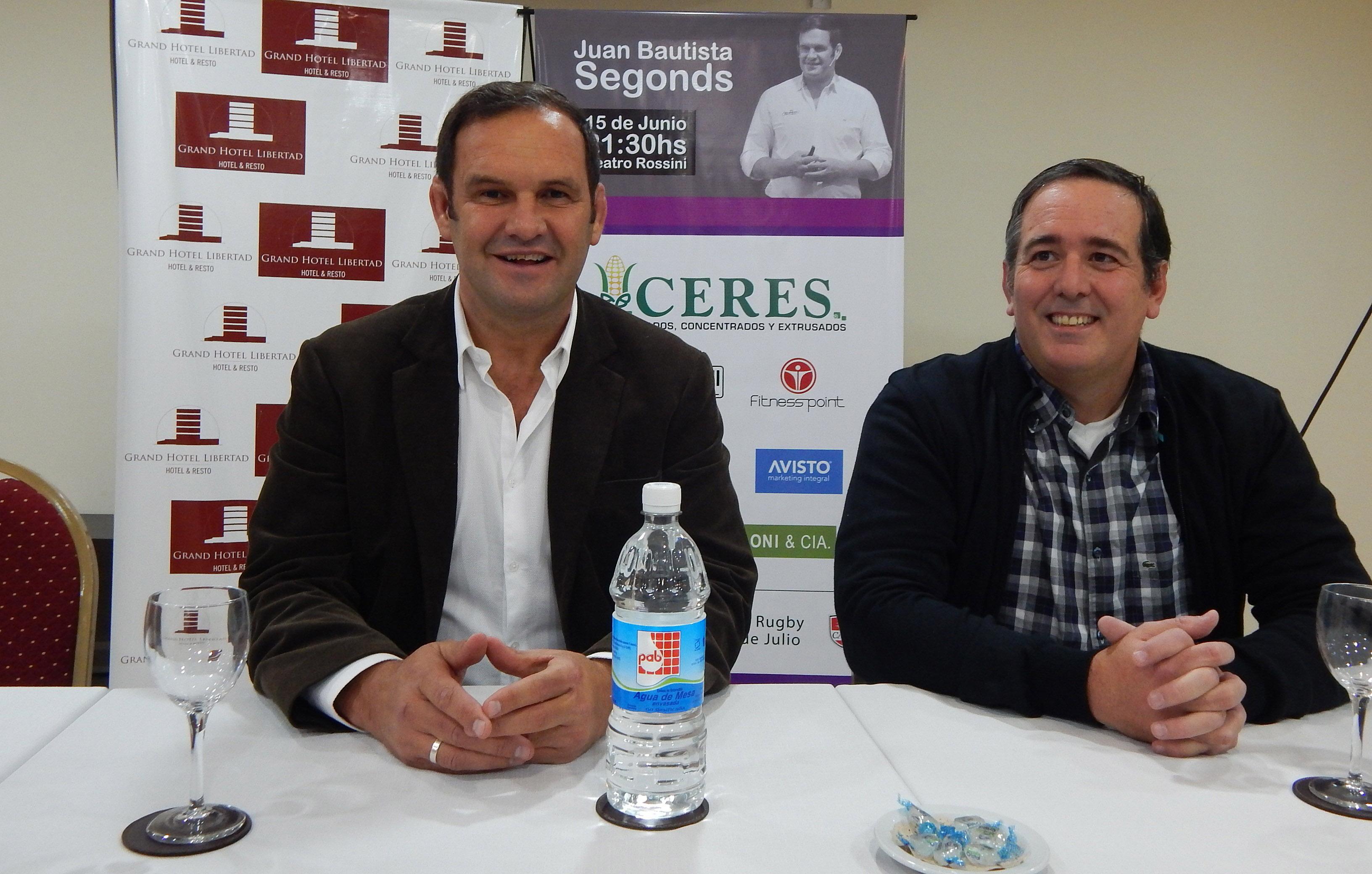 """Juan Segonds: """"La habilidad, el talento y la experiencia, suman; pero la actitud multiplica"""""""
