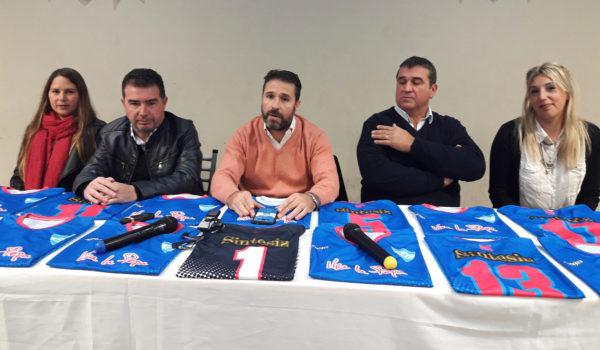 Juliana Sarti, Martin Rizzo, Jose Mignes, Jose Vidal y Yanina Abad