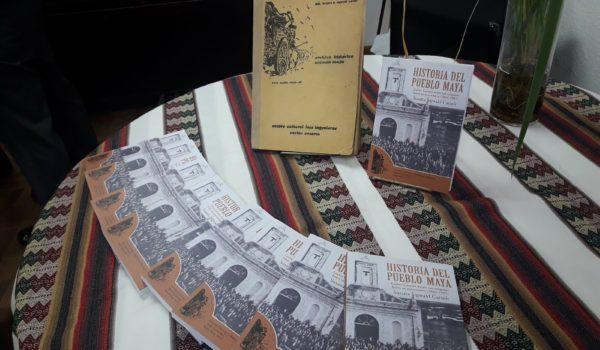 Libros Hisotira del Pueblo Maya – foto Casaresonline