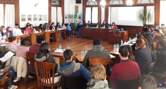 Se desarrollo la etapa local del Parlamento Juvenil