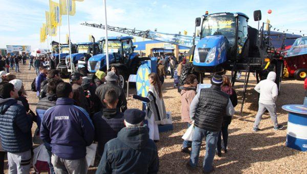 Stand de New Holland en Agroactiva 2018