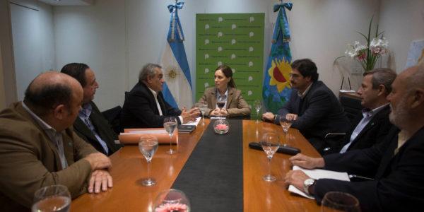 Vidal y Sarquis este martes junto a integrantes de Coninagro