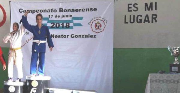 Garcia Gutierrez en lo mas alto de Judo provincial