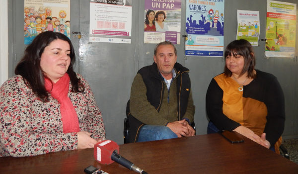 Dra Lucia Pirotta, Med Vet Martin Lizaso y Lic Guadalupe D´acunto insistieron en la prevención de triquinosis