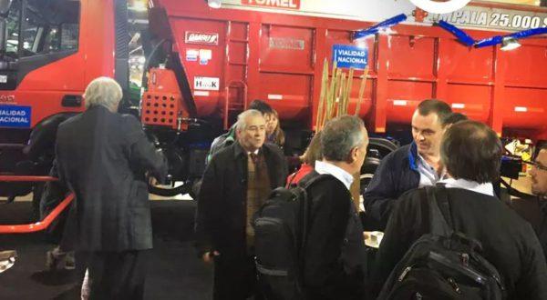 El proyecto y uno de los camiones fue presentado en la 132 Expo Rural de Palermo
