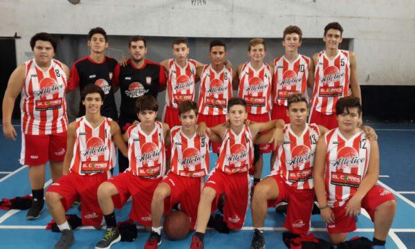Equipo U15 de Atletico 9 de Julio 2018