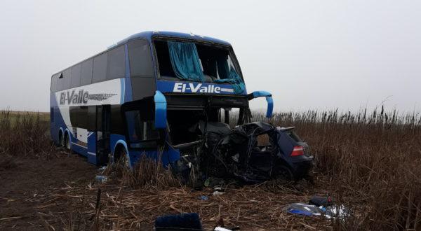 Impactante accidente en ruta nacional 5, km 275 en cercanias de French