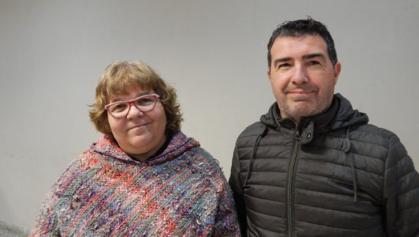 Laura Oliveiro y Martin Rizzo