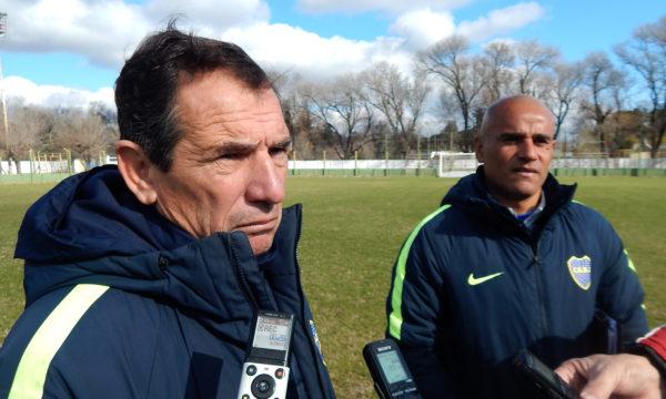 Luis Luquez y Jorge Martinez en dialogo con medios de prensa